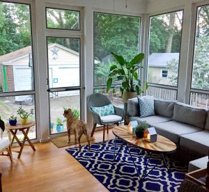 How To Hire a Contractor - Classic and comfy, this screened in porch buily by Kasdan Management, provides the homeowner a perfect place to entertain or relax when needed - free from shelter summer mosquitos